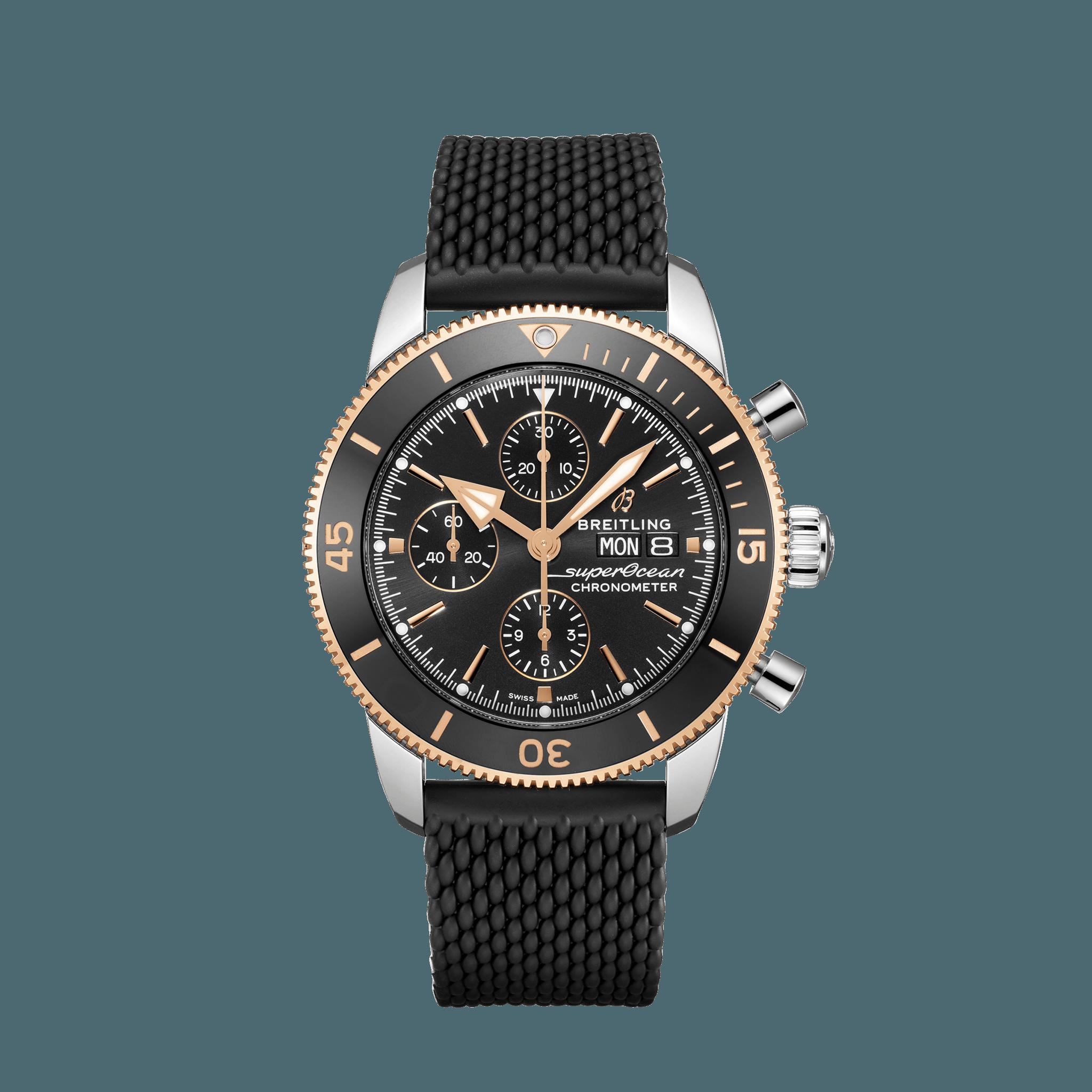 ブライトリング スーパーオーシャン ヘリテージ クロノグラフ 44