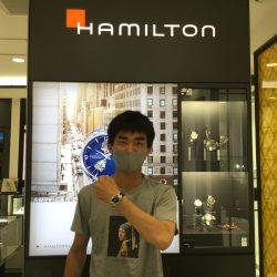 ハミルトンのベンチュラ、お買上げありがとうございます!!