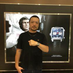 タグ・ホイヤーのお時計をお買上げ頂きまして、有難うございました!