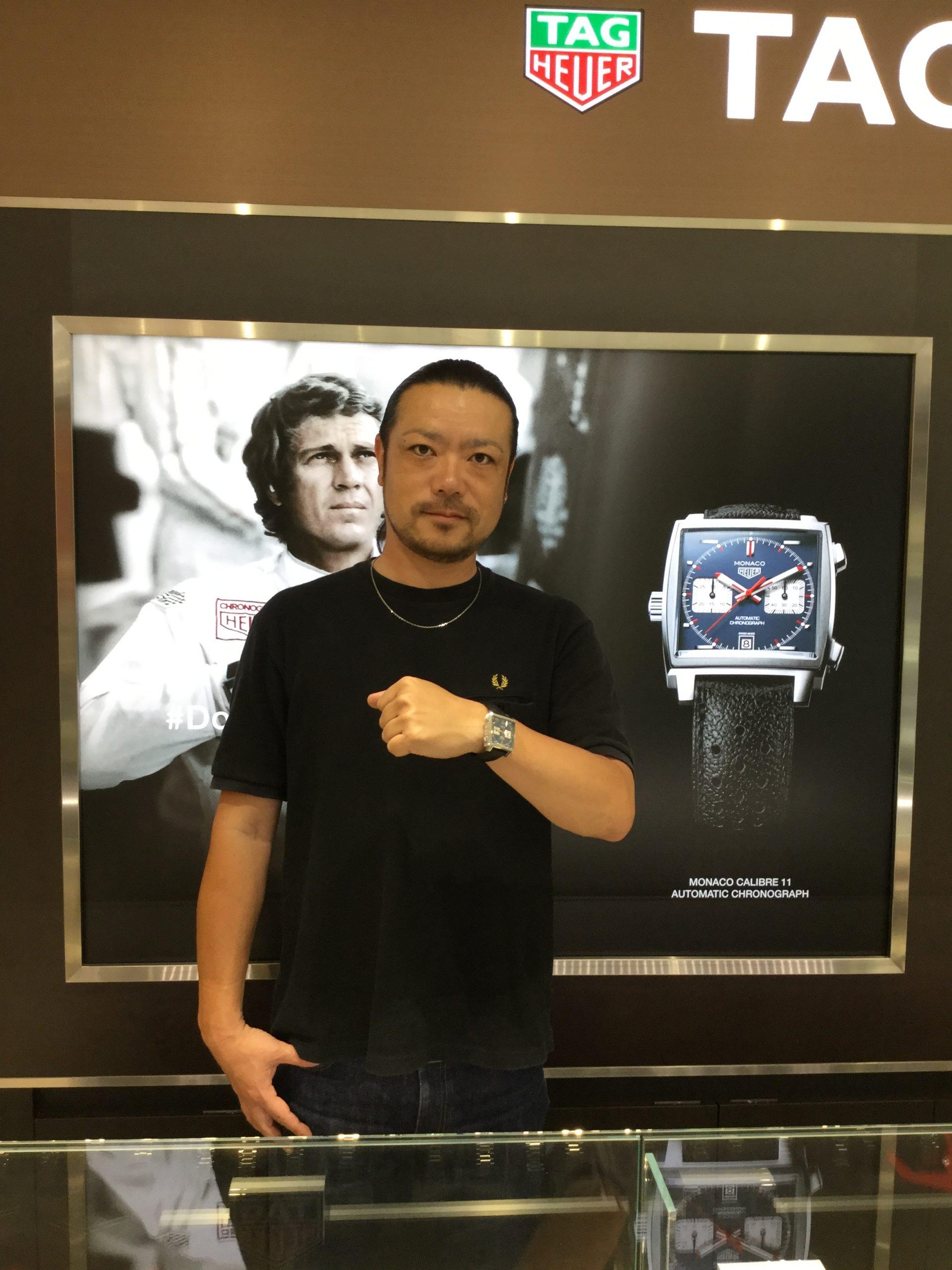 タグ・ホイヤーのお時計をお買上げ頂きまして、有難うございました!-画像1