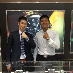 ブライトリングのお時計をお買上げ頂きまして、有難うございました!