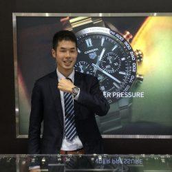 タグ・ホイヤーのお時計をお買上げ頂き、有難うございました!