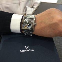 ミナセのお時計をお買い上げ頂きまして、有難うございます!