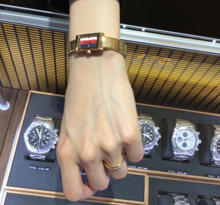 グッチのお時計と、リングをお買い上げ頂きまして、有難うございます! 画像2