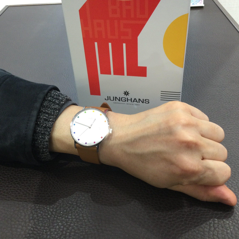ユンハンスのお時計をお買い上げ頂きまして、有難うございます!-画像1