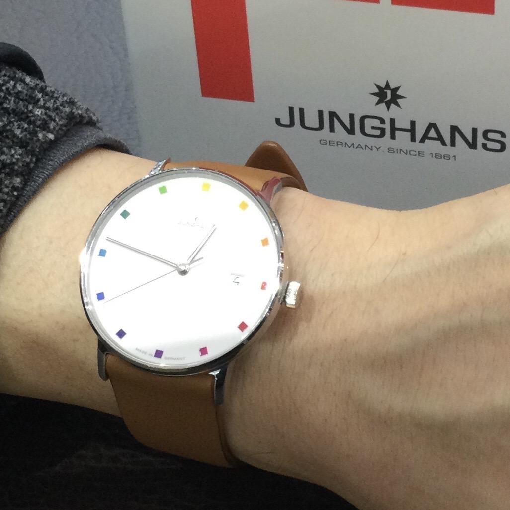ユンハンスのお時計をお買い上げ頂きまして、有難うございます! 画像2