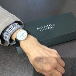 NOMOSのお時計をお買い上げ頂きまして、有難うございます!