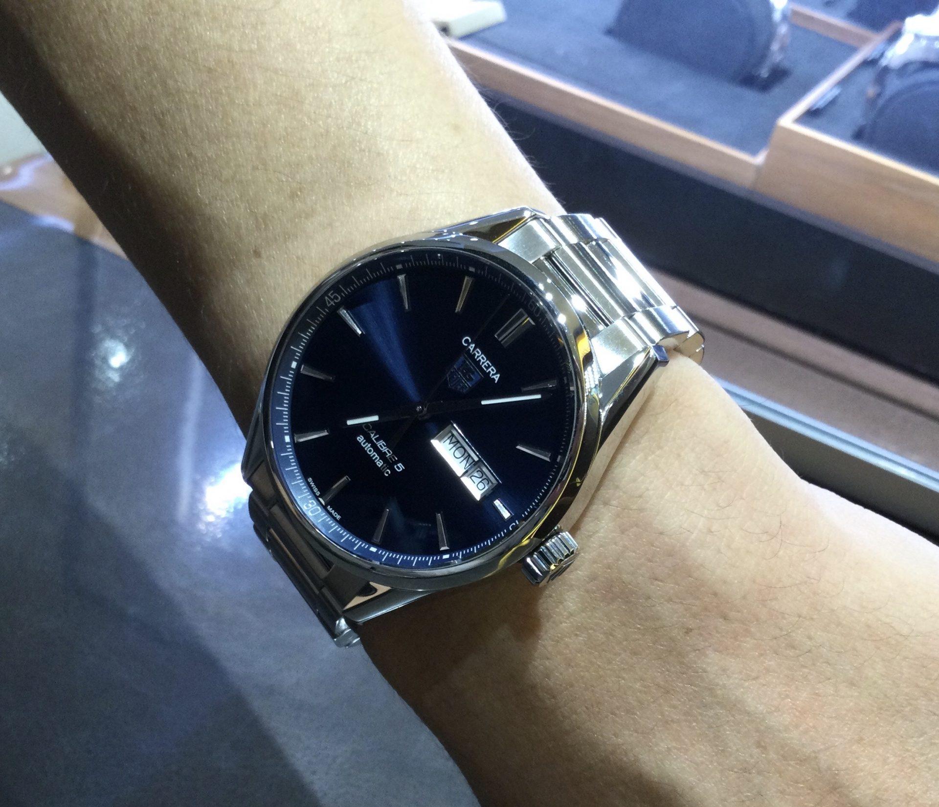 タグ・ホイヤーのお時計をお買い上げ頂きまして、有難うございます!-画像1