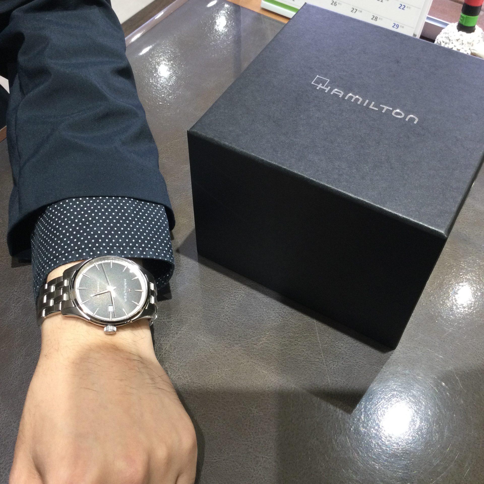 ハミルトンのお時計をお買い上げ頂きまして、有難うございます! 画像2
