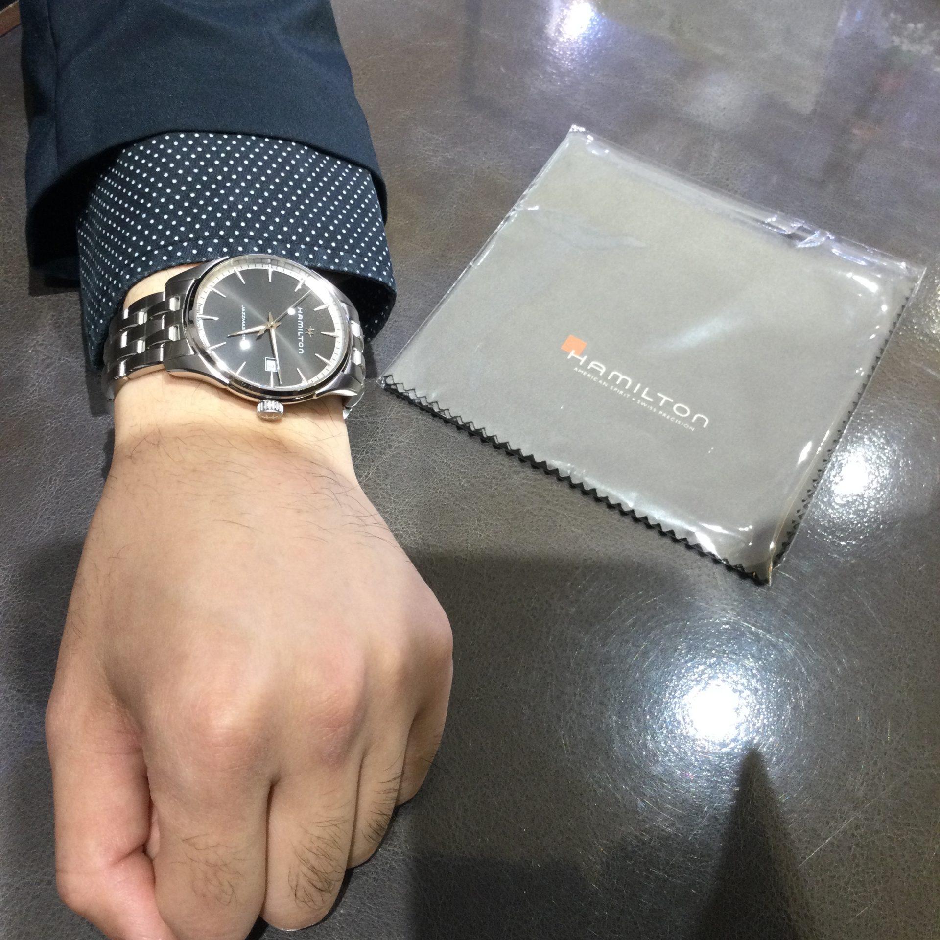 ハミルトンのお時計をお買い上げ頂きまして、有難うございます! 画像3