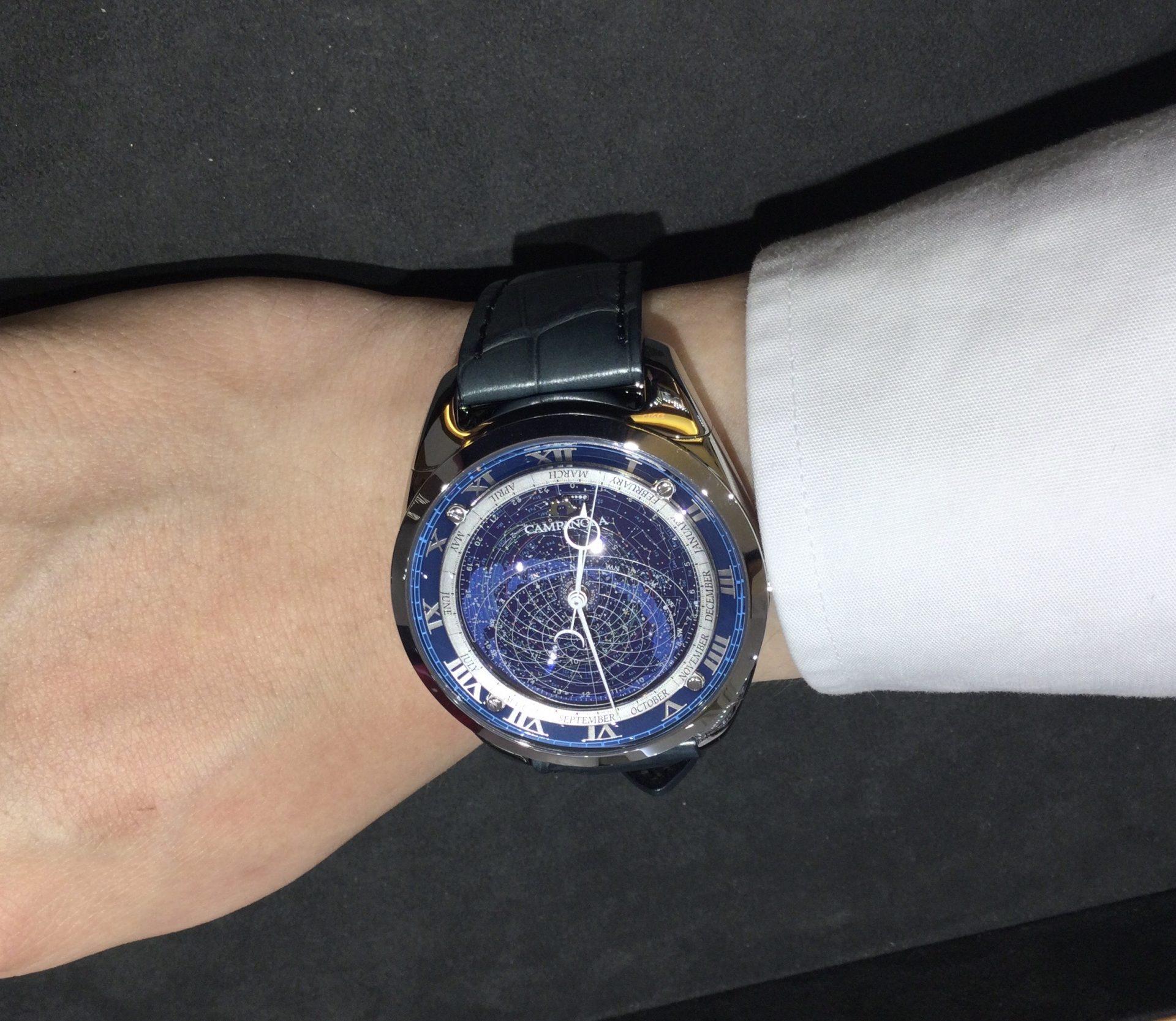 カンパノラのお時計をお買い上げ頂きまして、有難うございます!-画像1
