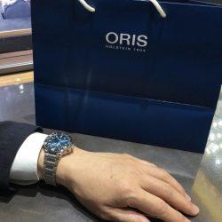 オリスのお時計をお買い上げ頂きまして、有難うございます!