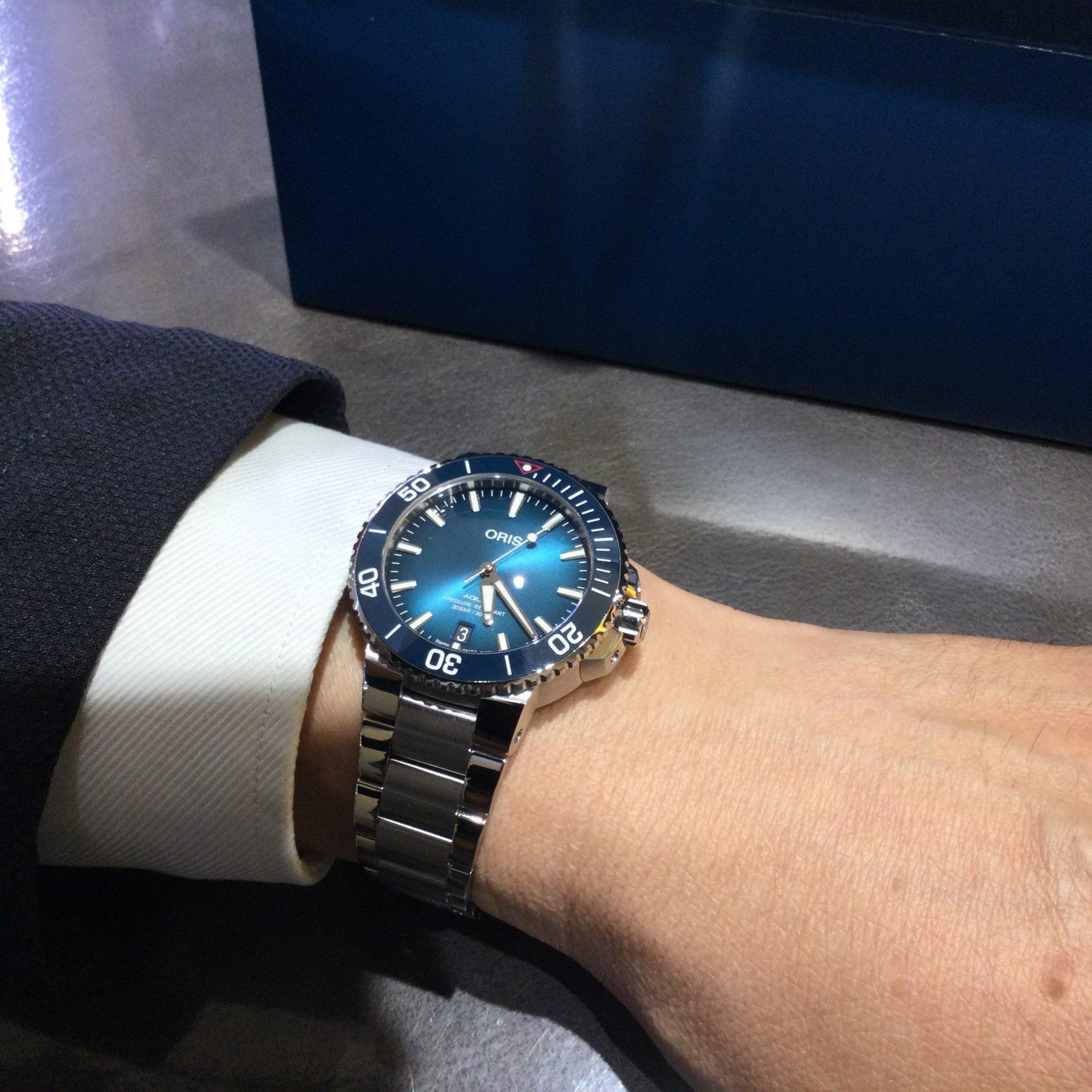 オリスのお時計をお買い上げ頂きまして、有難うございます! 画像2