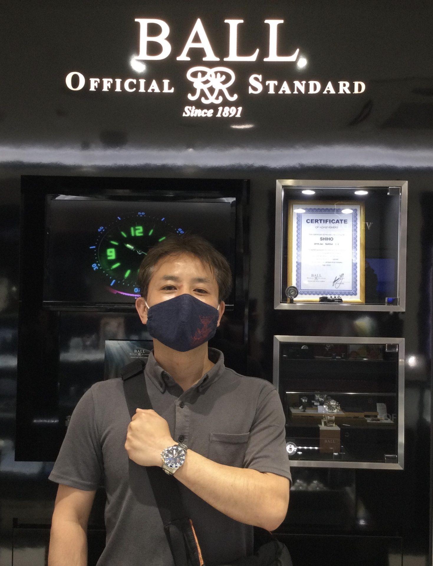 ボールウオッチのお時計をお買い上げ頂きまして、有難うございます!-画像1