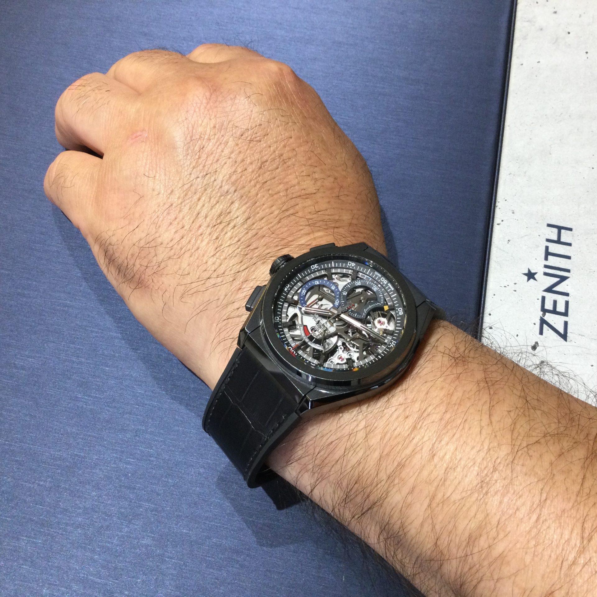 ゼニスのお時計をお買い上げ頂きまして、有難うございます!-画像1