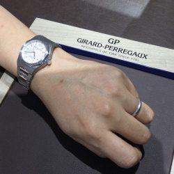ジラールペルゴのお時計をお買い上げ頂きまして、有難うございます!