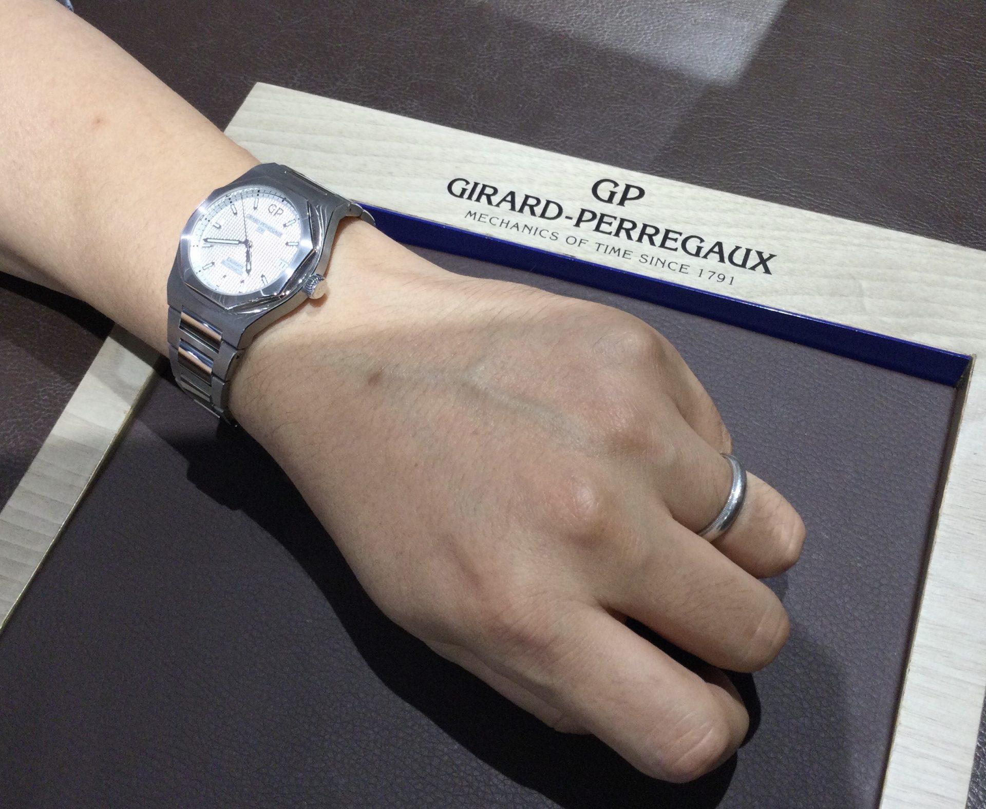 ジラールペルゴのお時計をお買い上げ頂きまして、有難うございます!-画像1