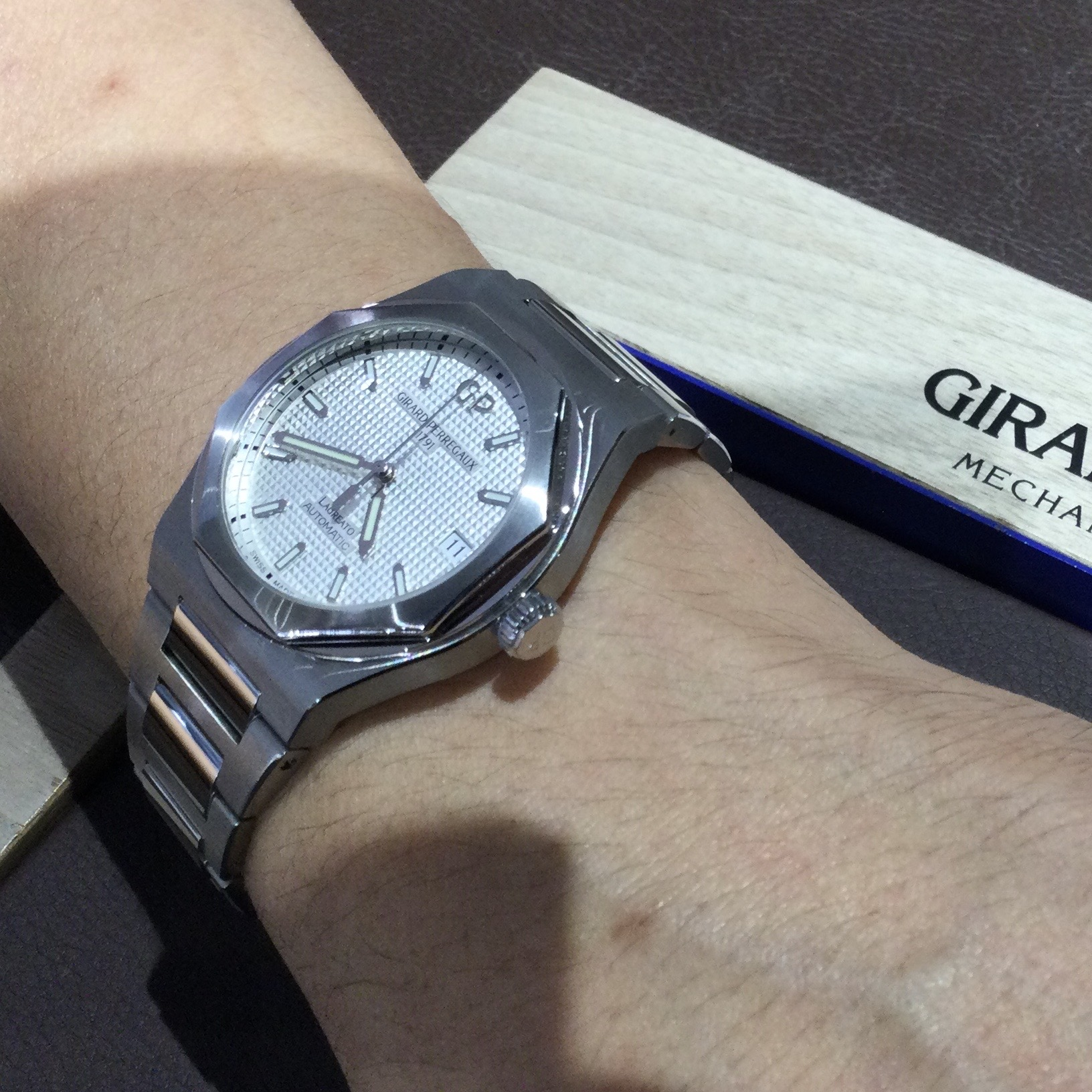 ジラールペルゴのお時計をお買い上げ頂きまして、有難うございます! 画像2