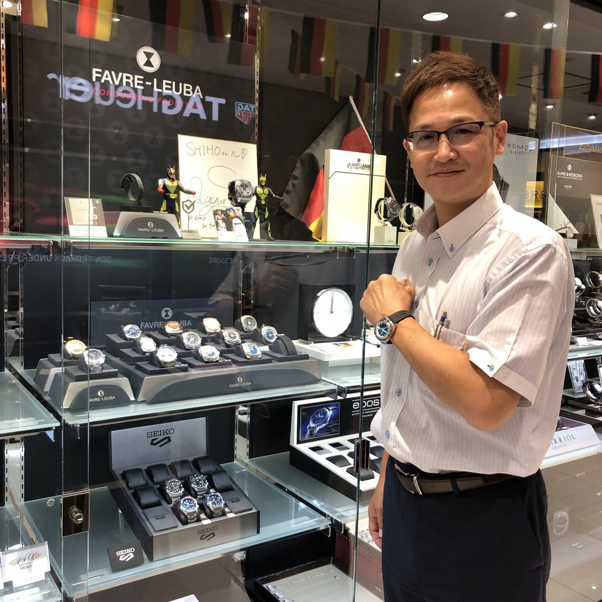 ファーブルルーバのお時計をお買い上げ頂きまして、有難うございます!-画像1