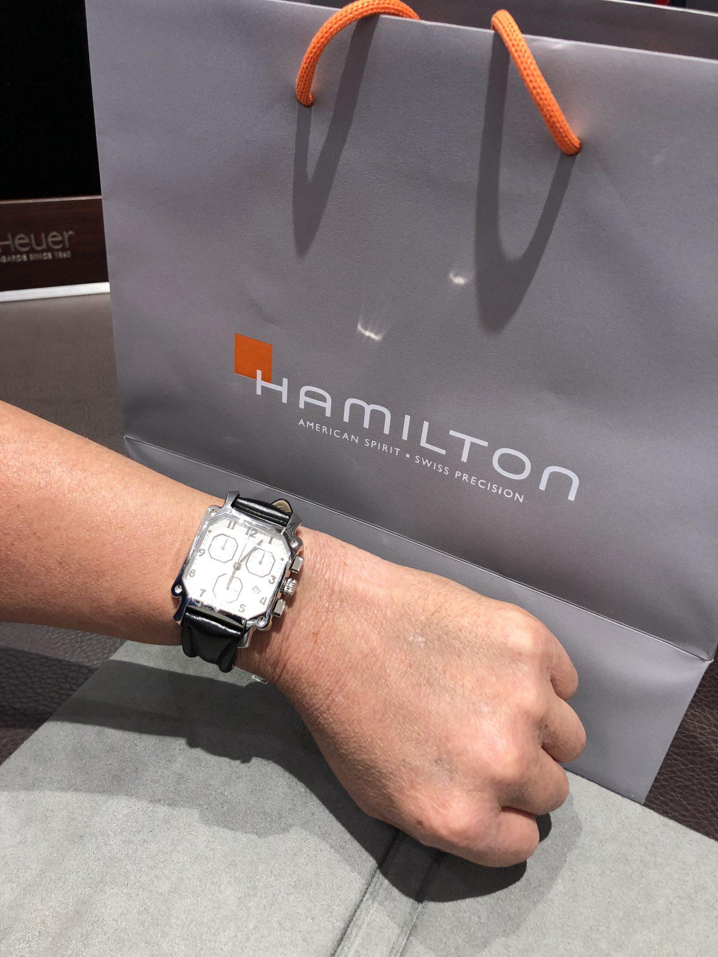 ハミルトンのお時計をお買い上げ頂きまして、有難うございます!-画像1