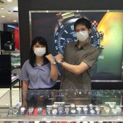 タグホイヤーのお時計をお買い上げ頂きまして、有難うございます!