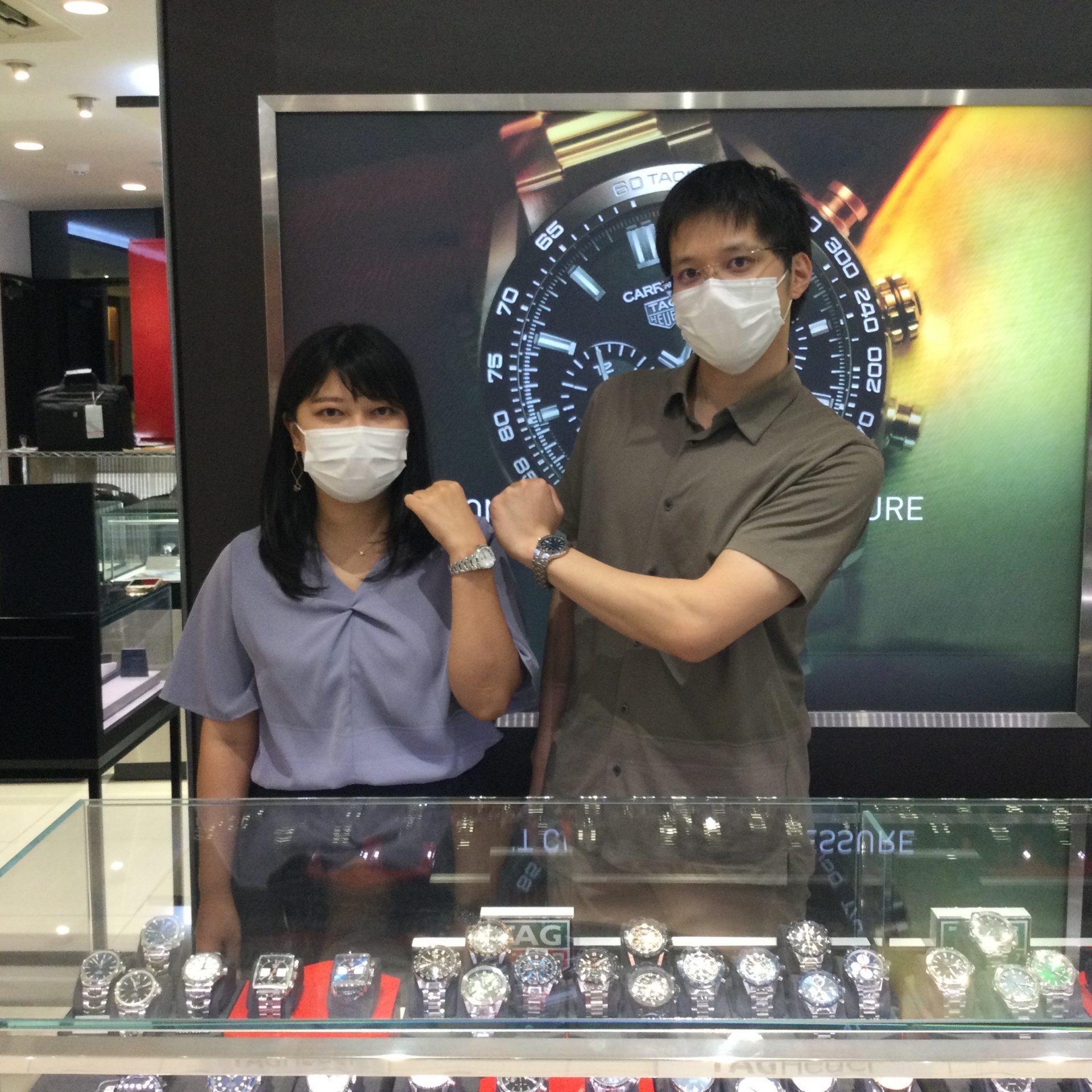 タグホイヤーのお時計をお買い上げ頂きまして、有難うございます!-画像1
