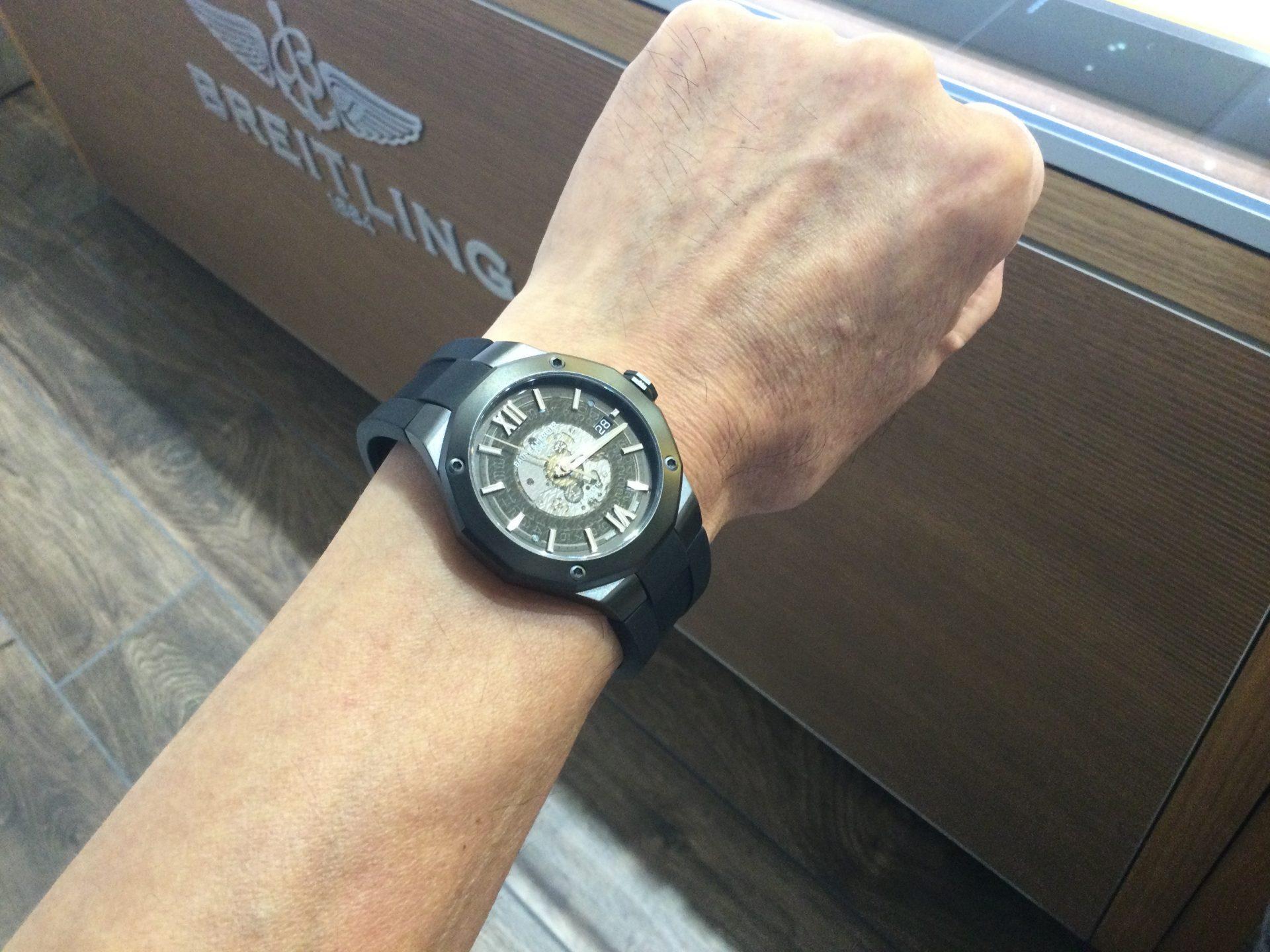 ボーム&メルシエのお時計をお買い上げ頂きまして、有難うございます!-画像1