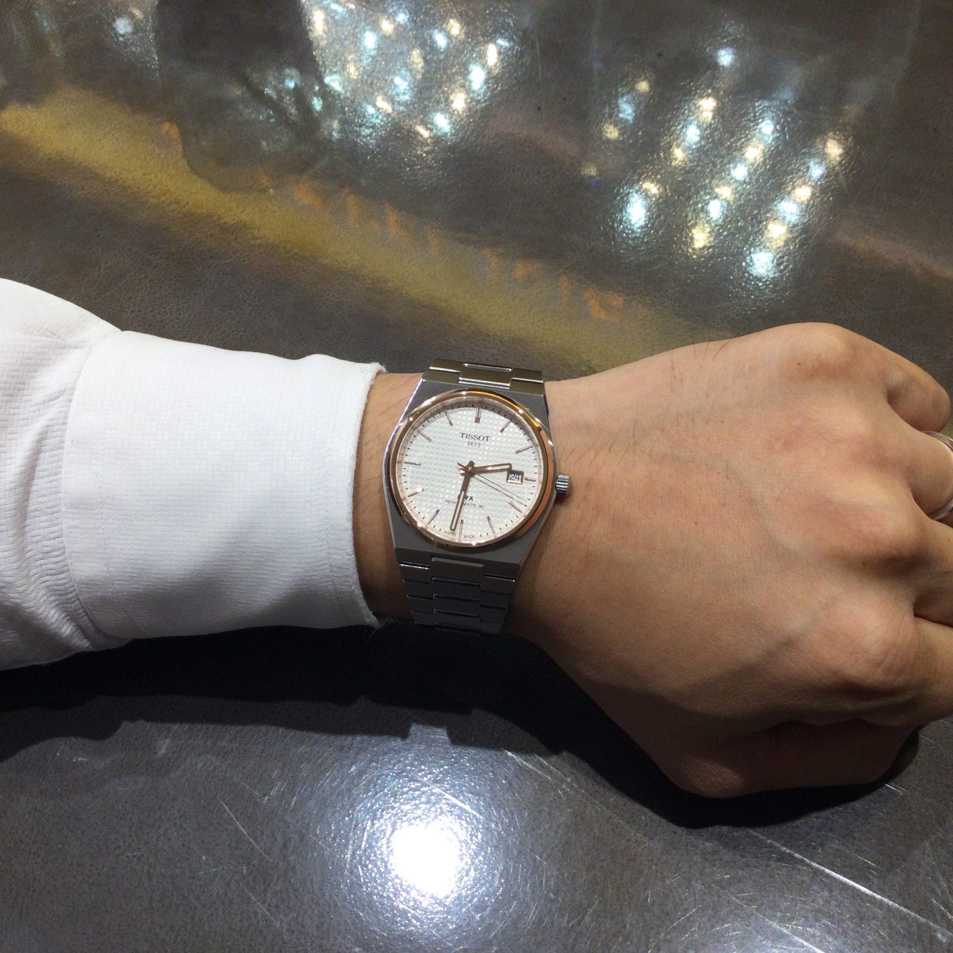 ティソのお時計をお買い上げ頂きまして、有難うございます!-画像1