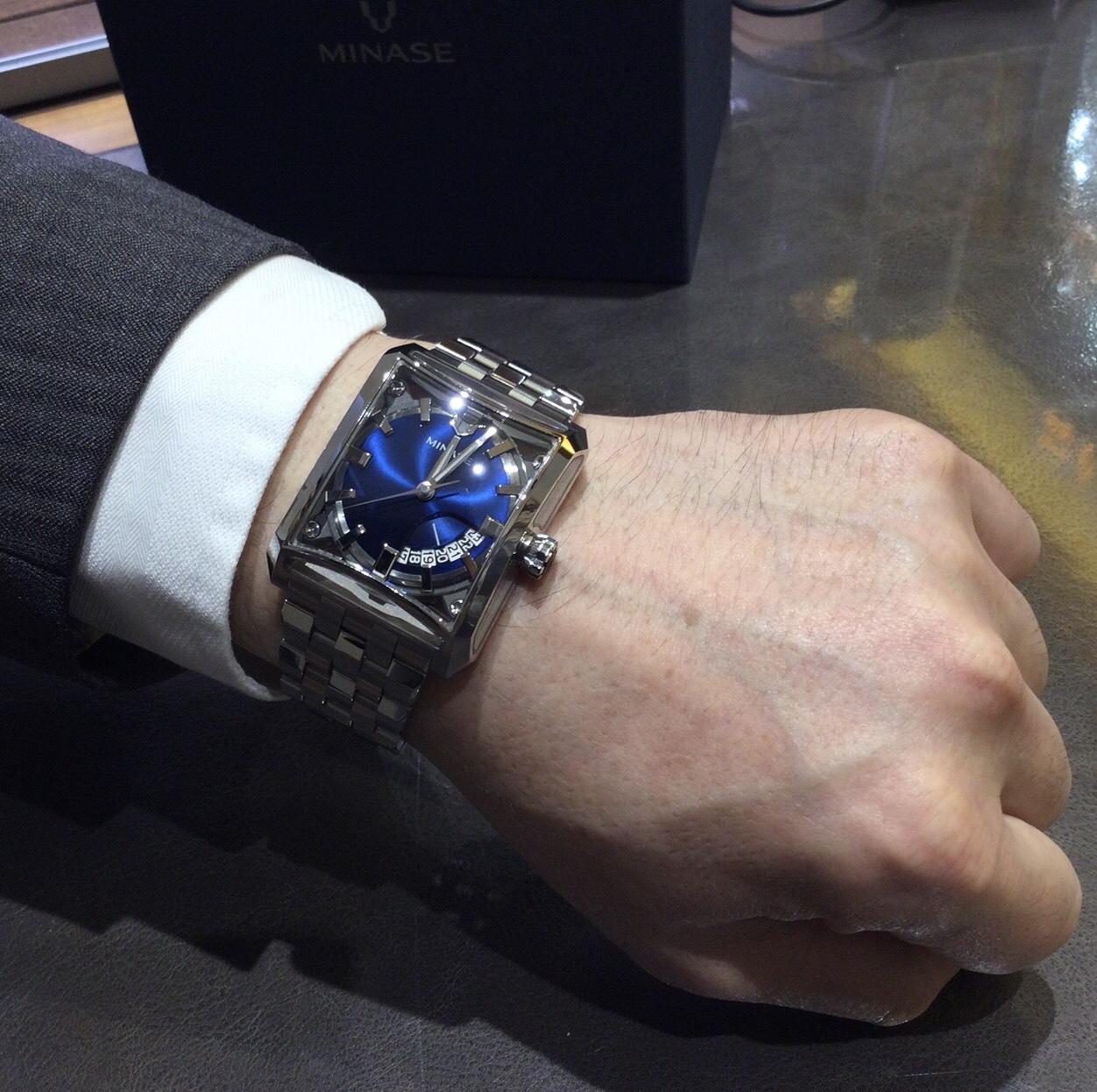 ミナセのお時計をお買い上げ頂きまして、有難うございます!-画像1