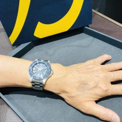 ブライトリングのお時計をお買い上げ頂きまして、有難うございます!
